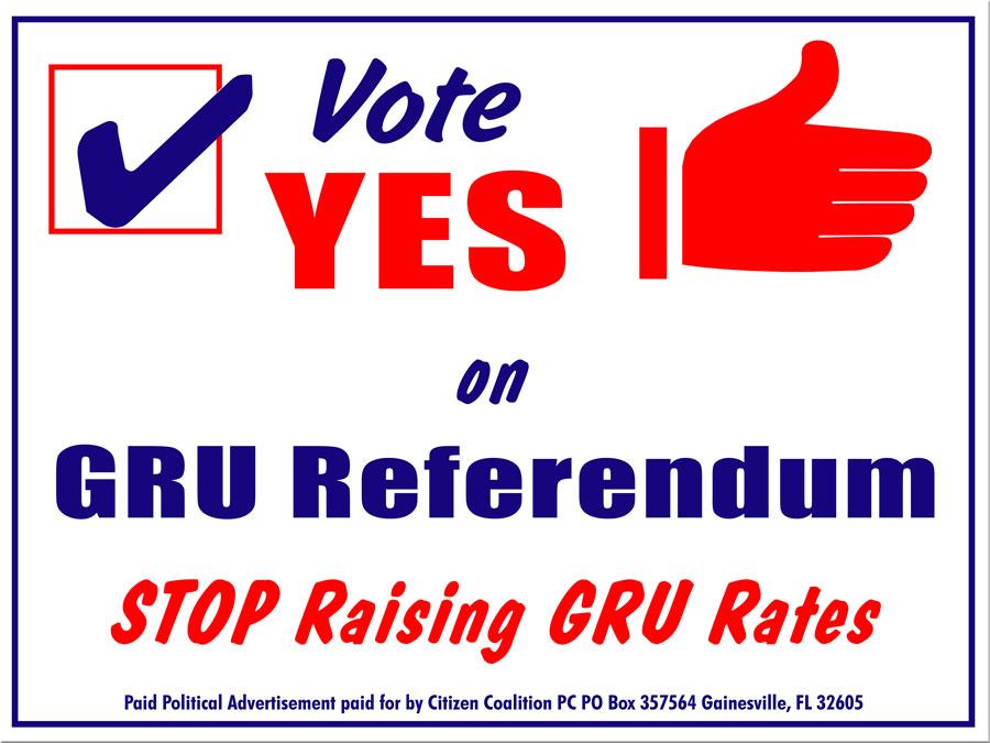 yes on GRU referendum